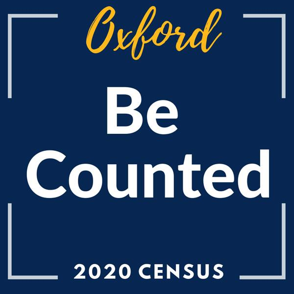Oxford - Be Counted - 2020 Census