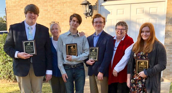 Oxford High School Sweeps Equal Justice Initiatives Essay Contest
