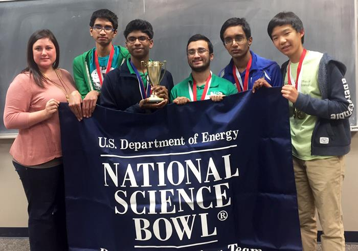 OHS Students Win Regional National Science Bowl® Competition, Secure Spot in National Finals