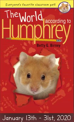 Cover of book: 'The World According to Humphrey' by Betty G. Birney