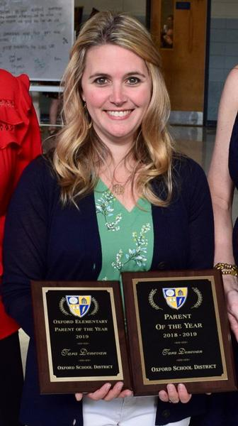 Tara Denevan, Oxford School District Parent of the Year
