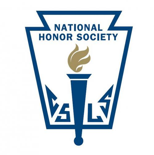 The logo of the National Honor Society