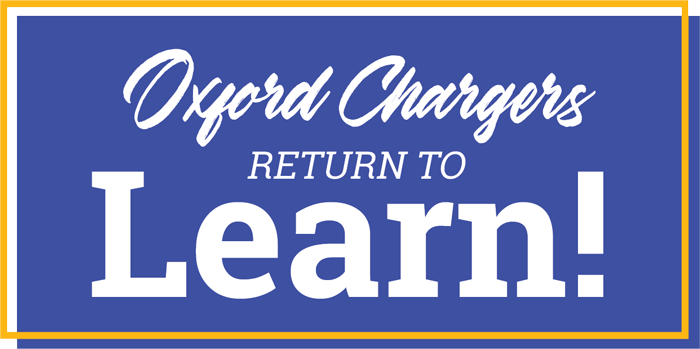 Oxford Chargers Return to Learn!