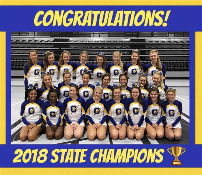 Congratulations, 2018 State ChampionS!
