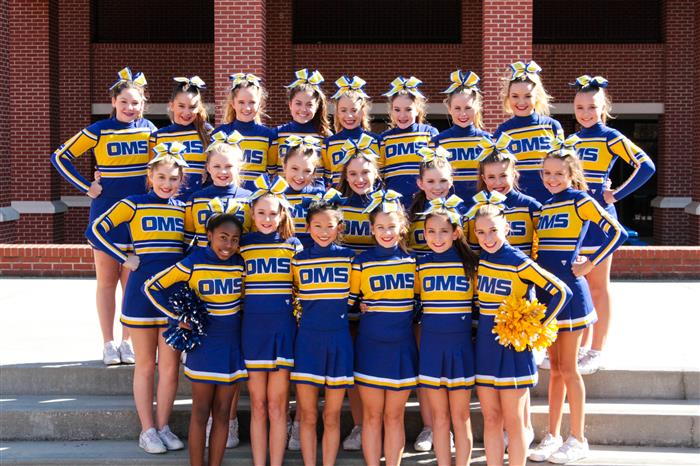 oms cheer squad    overview