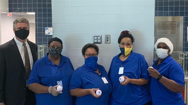 Central Elementary School Cafeteria Staff