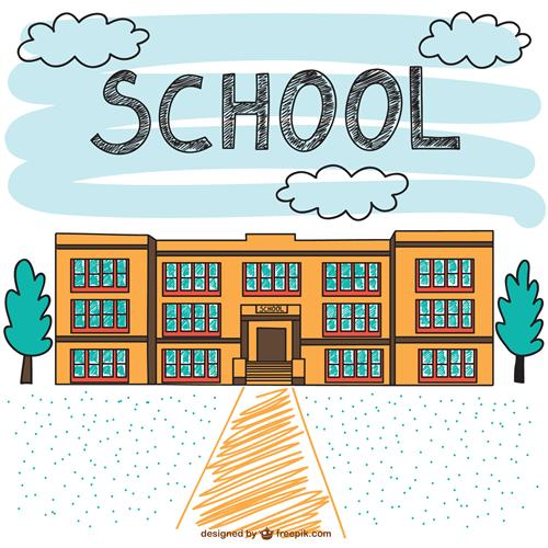 Drawing of School