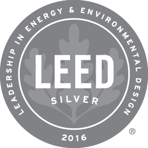 OHS is a Certified LEED Green Building