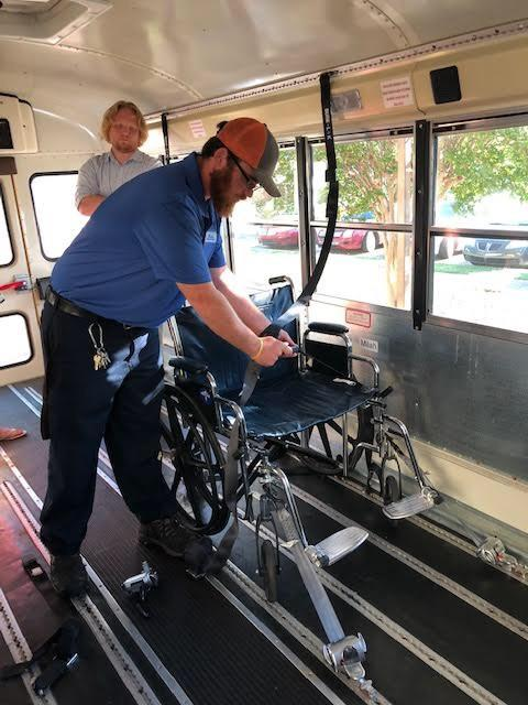 Specialized Bus Monitor Training for SPED
