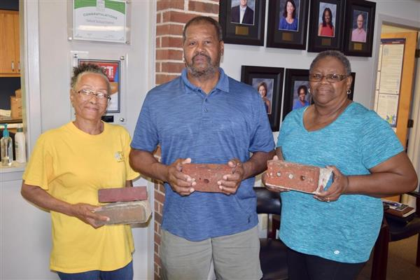 Central High School Honored Brick by Brick