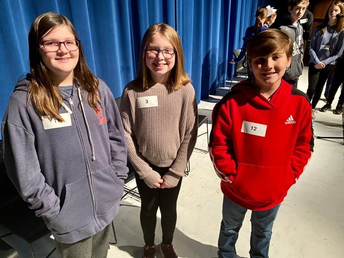 OSD Students Advance to the 2019-2020 County Spelling Bee